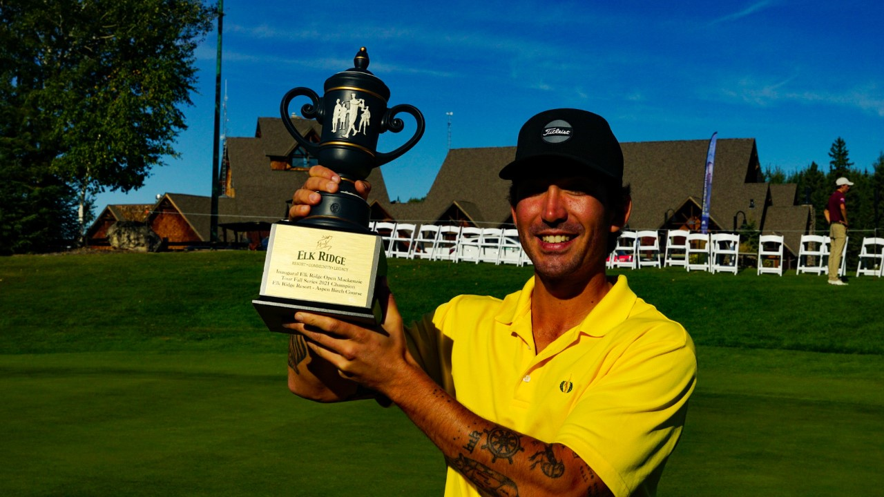 Menard wins the inaugural Elk Ridge Open