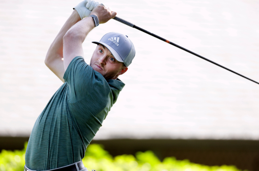 Bursey takes the lead at Reliance Properties DCBank Open