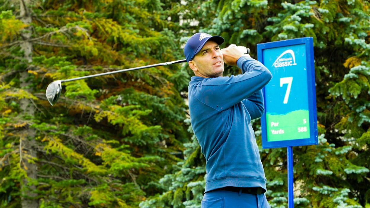 Calgary's Heffernan takes lead in his hometown